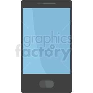 phone device vector design clipart. Royalty-free image # 408696