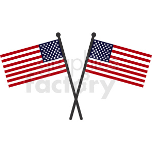 united states flags clipart. Royalty-free image # 408789