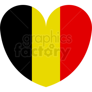 belgium heart clipart. Commercial use image # 408809