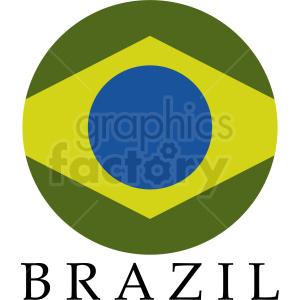 brazil logo idea clipart. Royalty-free image # 408811