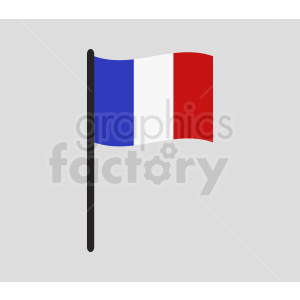 france flag icon clipart. Royalty-free image # 408831