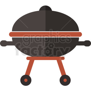 vector grill flat icon design no background clipart. Royalty-free image # 408994