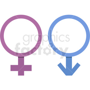 gender vector icons