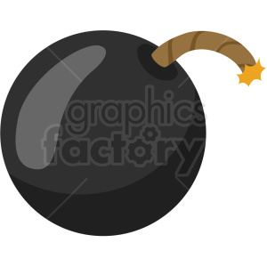 lit bomb vector clipart no background