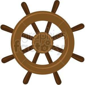 ship wheel vector clipart no background clipart. Commercial use image # 409429