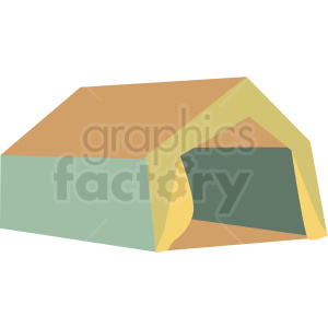 large tent vector clipart clipart. Royalty-free image # 409591