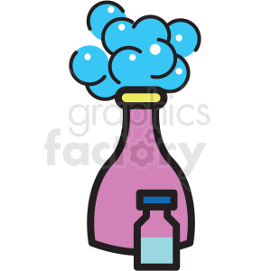 shampoo bottle vector icon clipart clipart. Commercial use image # 409611