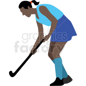 latin playing field hockey vector clipart clipart. Royalty-free image # 409660