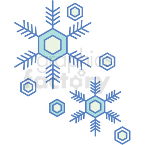 snowflake icon clipart. Royalty-free icon # 409816
