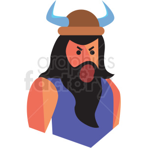 game viking character vector icon clipart clipart. Royalty-free image # 409829