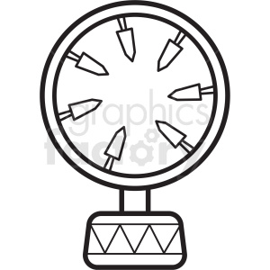 circus fire ring clipart icon clipart. Royalty-free image # 409940