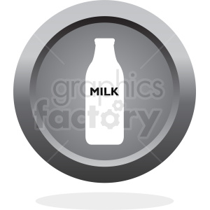 bottle of milk icon clipart. Commercial use image # 410296