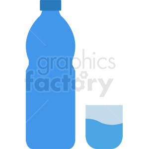 water with cup vector clipart clipart. Royalty-free image # 410346