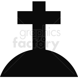 cemetery grave vector design clipart. Commercial use image # 410386