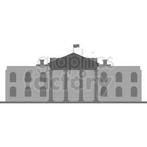 white house vector icon clipart. Commercial use image # 410397