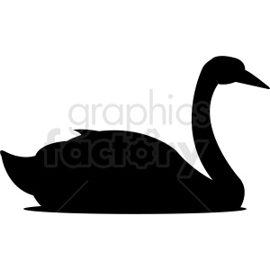 silhouette geese outline vector clipart clipart. Commercial use image # 410472