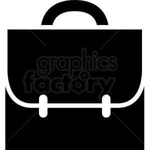 briefcase vector art clipart. Royalty-free image # 410512