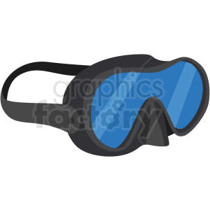 swimming goggles vector clipart clipart. Royalty-free image # 410577