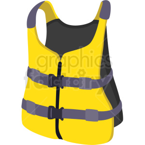 water rafting safty vest vector clipart clipart. Commercial use image # 410604