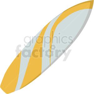 surfboard vector clipart
