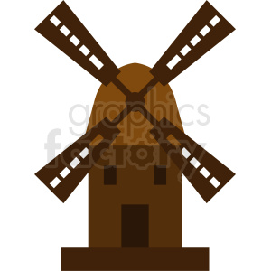 windmill design clipart. Royalty-free image # 410745