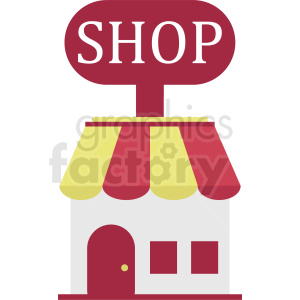 retail storefront vector clipart clipart. Commercial use image # 410779