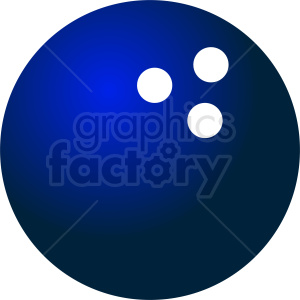 blue bowling ball vector clipart clipart. Royalty-free image # 411084
