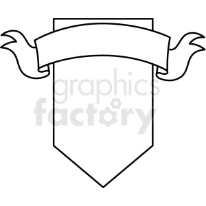 doodle notes elements banner with shield clipart. Commercial use image # 411144