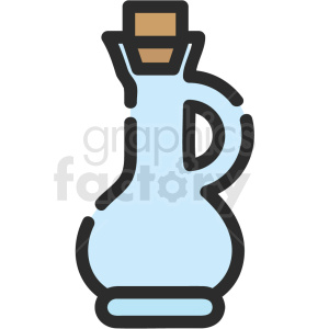water jug vector icon clipart. Royalty-free image # 411199