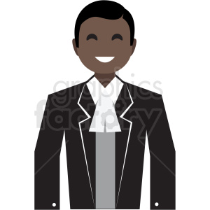 black server flat icon vector icon clipart. Royalty-free image # 411348