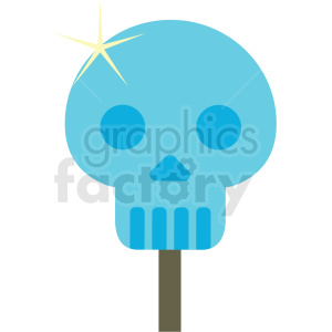 day of the dead popsicle vector clipart clipart. Royalty-free image # 411626