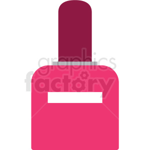 pink nail polish vector clipart clipart. Commercial use image # 411665