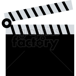 clapperboard clipart clipart. Commercial use image # 411835