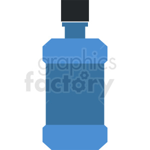 cough syrup cartoon bottle clipart clipart. Commercial use image # 411861