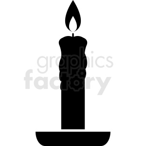 vector candle stick clipart. Royalty-free image # 411883