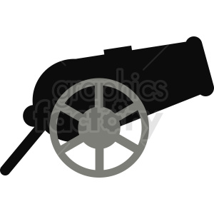 cannon vector icon clipart. Royalty-free image # 411973