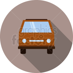 car vector icon clipart. Royalty-free image # 412024