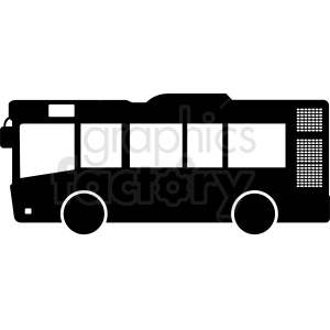short bus silhouette clipart clipart. Commercial use image # 412040