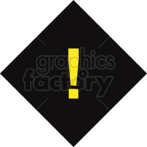 warning sign vector clipart. Commercial use image # 412060