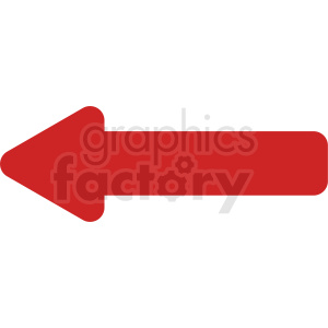 red arrow straight vector icon clipart. Commercial use image # 412093