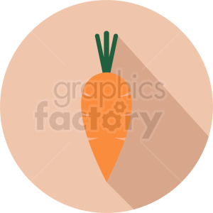 carrot cartoon icon clipart. Commercial use image # 412267