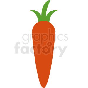 carrot vector icon clipart. Commercial use image # 412281