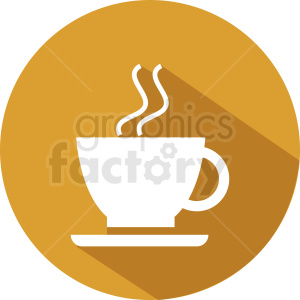 coffee cup vector icon clipart. Commercial use image # 412290
