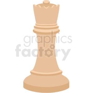 chess queen piece vector clipart clipart. Commercial use image # 412491