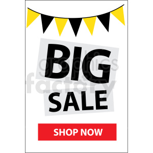 big sale shop now icon vector clipart clipart. Royalty-free image # 412682