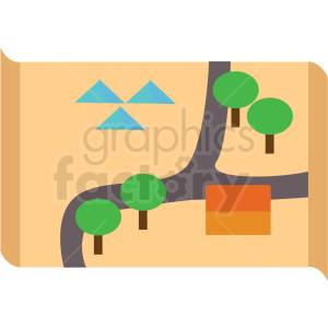 map vector clipart icon clipart. Commercial use image # 412966