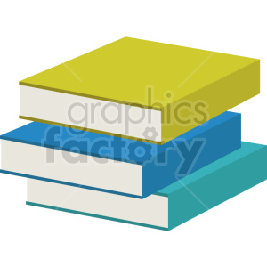 cartoon book vector clipart 2 no background