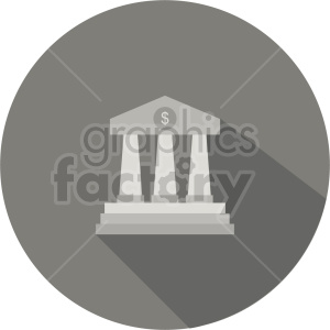 bank pillars vector clipart 1 clipart. Commercial use image # 413457