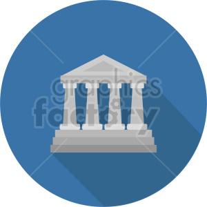 building pillars vector clipart 7
