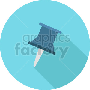 thumbtack vector clipart 2 clipart. Commercial use image # 413507